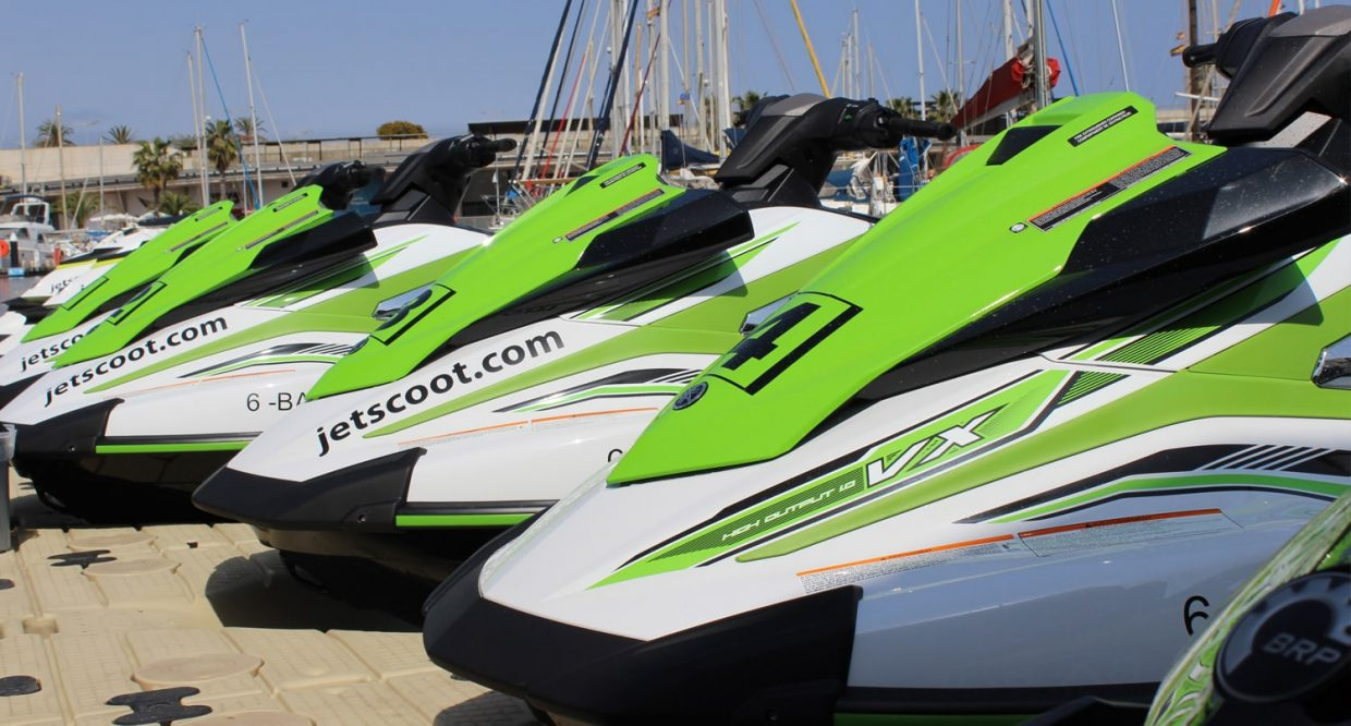 Yamahas watercraft Barcelona
